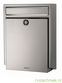 Brabantia brievenbus B100, matt steel